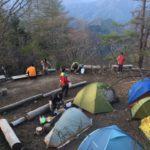 【重要なお知らせ】六月以降のテント泊について